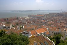 Free Roofs Of Lisbon Stock Images - 5557224