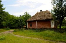 Free The Folk Ukrainian House Royalty Free Stock Photo - 5557425
