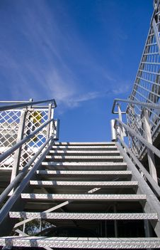 Free Stairways 1 Royalty Free Stock Photo - 5557805