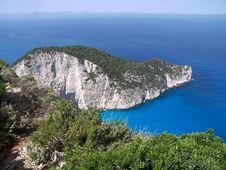 Free Coast Line Of Zakynthos. Stock Images - 5558144