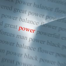 Free Power Abstract Royalty Free Stock Photo - 5558355