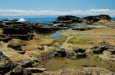 Free Rocks At The Low Tides Stock Photo - 5558530