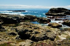Free Rocks At The Low Tides Stock Photo - 5558550