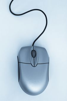 Free Mouse With A Wheel Stock Photography - 5558662