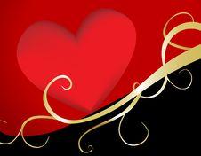 Free Romantic Heart Royalty Free Stock Photos - 5558678