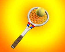 Free Tennis 3 Royalty Free Stock Images - 5558909