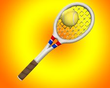 Free Tennis 4 Royalty Free Stock Image - 5558916