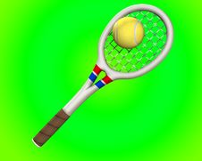 Free Tennis 6 Royalty Free Stock Photography - 5558917