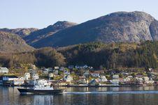 Free Coastal Village Royalty Free Stock Image - 5559026