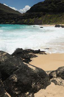 Free Path To Makapuu Beach Park Stock Photography - 5559072