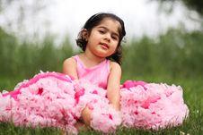 Free Child Wearing Pettiskirt Royalty Free Stock Image - 5559486