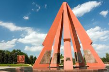 Free WW-II Memorial In Chisinau, Moldova Royalty Free Stock Photo - 5559545