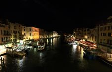 Free The Grand Canal In Venice Stock Image - 5559601