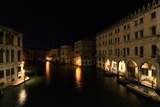Free The Grand Canal In Venice Stock Images - 5559614