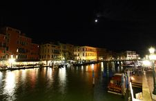 Free The Grand Canal In Venice Royalty Free Stock Photos - 5559628