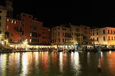 Free The Grand Canal In Venice Royalty Free Stock Photo - 5559635