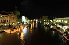 Free The Grand Canal In Venice Royalty Free Stock Image - 5559646