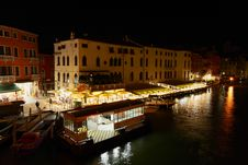 Free The Grand Canal In Venice Royalty Free Stock Photography - 5559647