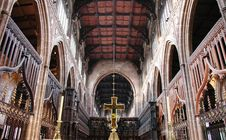 Free Cathedral Interior Royalty Free Stock Photography - 5559977