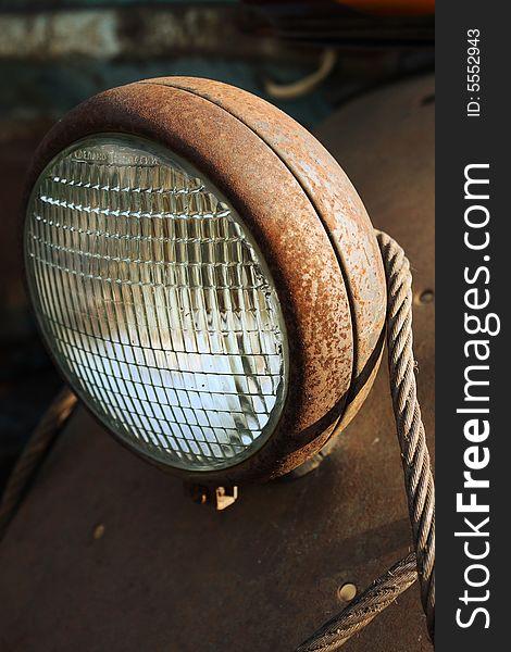 Rusty headlight