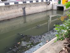 Waste Water In Capital City Stock Images