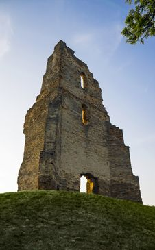 Free CHURCH RUIN Royalty Free Stock Image - 55589966