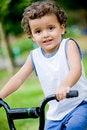 Free Boy On Bike Stock Image - 5562551