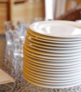 Free Glass And Plates Royalty Free Stock Photos - 5567838