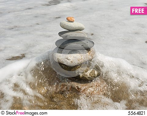 Free Stones For Meditation Stock Image - 5564821