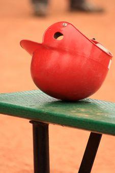Free Baseball Helmet Stock Image - 5560781