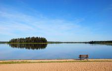 Free Island In The Lake Stock Photos - 5560993