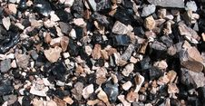 Obsidian Texture Royalty Free Stock Image