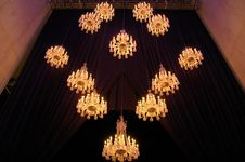 Free Chandeliers Royalty Free Stock Image - 5561226