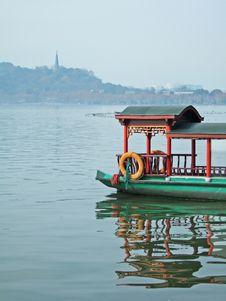 Free Boat On The Xizi Lake Royalty Free Stock Photos - 5561778