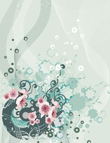 Free Exquisite Floral Background Stock Photo - 5561840