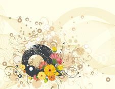 Free Exquisite Floral Background Stock Photo - 5562030
