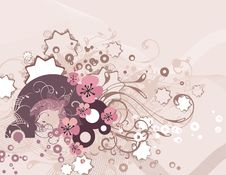 Free Exquisite Floral Background Stock Images - 5562074