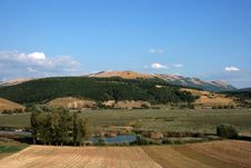Free Colfiorito Lake, Umbria Royalty Free Stock Photography - 5562317