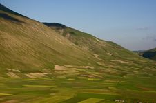 Free Castelluccio Di Norcia Royalty Free Stock Photos - 5563468