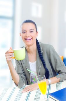 Free Coffee Break Stock Photography - 5564762