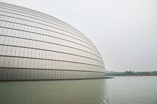 Free China National Grand Theatre Royalty Free Stock Photography - 5566107