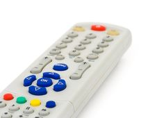 Free Macro Of Remote Control Stock Image - 5566131
