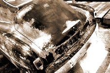 Antique Coupe Stock Photos