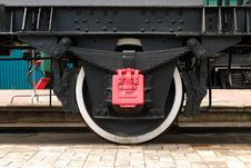 Free Train Wheels Royalty Free Stock Images - 5566439