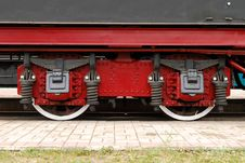 Free Train Wheels Royalty Free Stock Image - 5566466