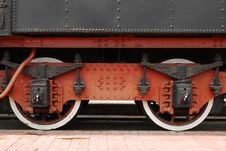Free Train Wheels Stock Photography - 5566522