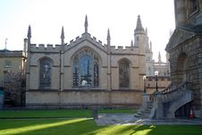 Free All Souls College, Oxford Royalty Free Stock Photos - 5566648