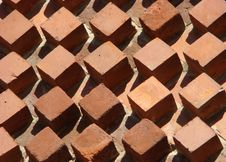 Free Figured Bricklaying Stock Photo - 5567000