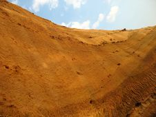 Free Clay Hill Scenery Stock Images - 5567004