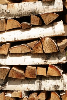 Free The Firewood Royalty Free Stock Images - 5567189